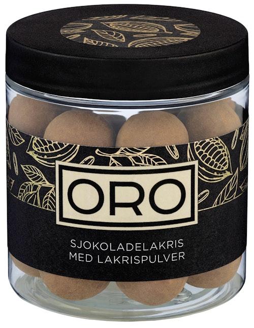 ORO Lakriskuler med Sjokolade 140 g
