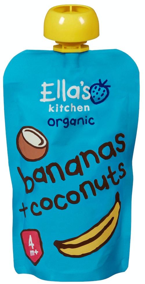 Ella's Kitchen Banan + Kokos Fra 4 mnd, 120 g