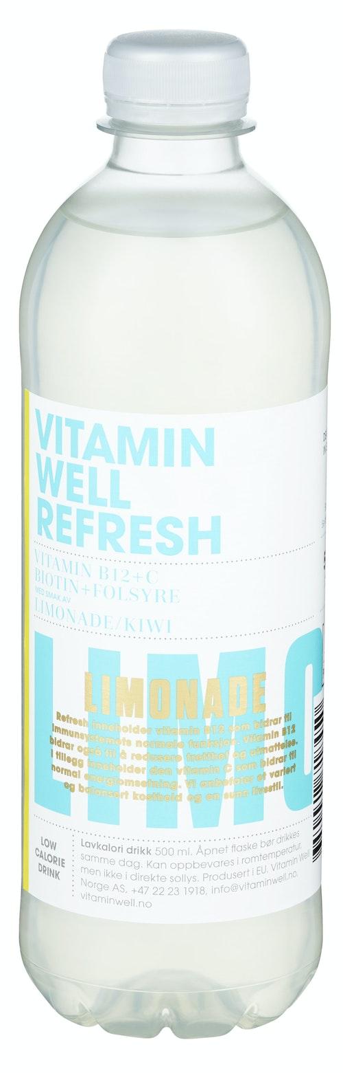 Vitamin Well Vitamin Well Refresh Limonade, 0,5 l