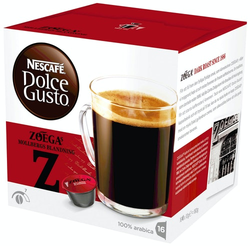 Dolce Gusto Dolce Gusto Mollbergs Intensitet 7, 16 stk