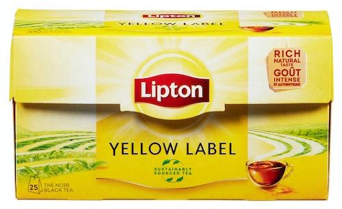 Lipton Yellow Label Tea 25 poser, 25 stk