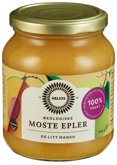 Helios Eplemos med Mango 360 g