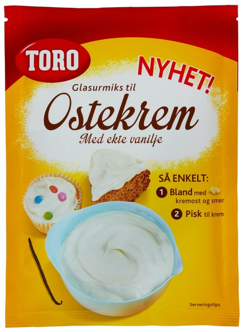Toro Toro Glasurmiks Til Ostekrem, 126 g