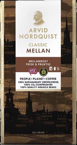 Arvid Nordquist Classic Mellanrost Filtermalt, 500 g