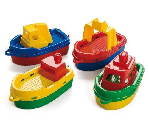Vn leker Båter i plast 15 cm Assortert farge, 1 stk