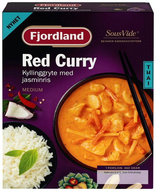 Fjordland Red Curry 460 g