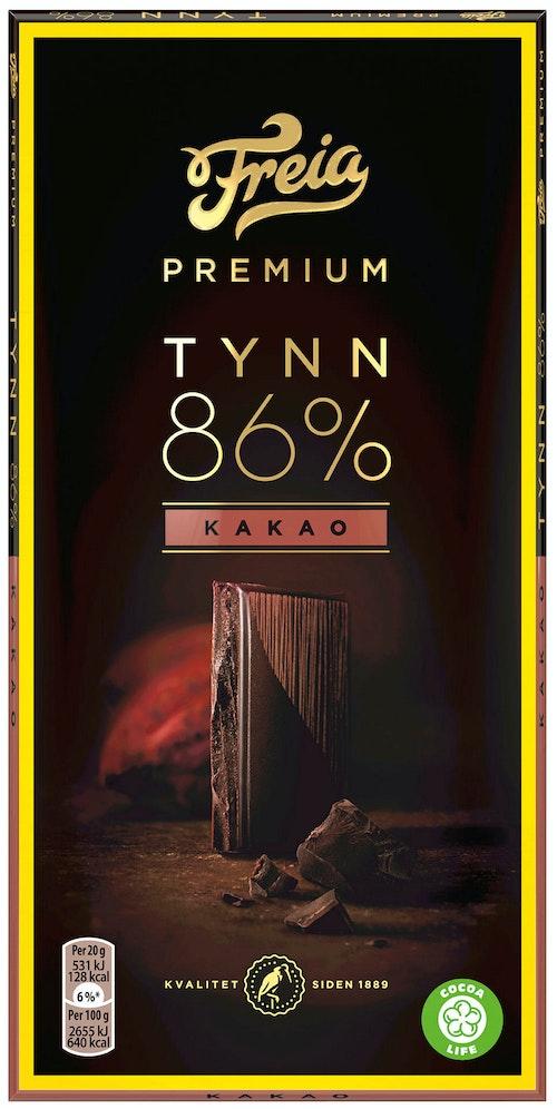 Freia Premium Dark 86% Cocoa 100 g