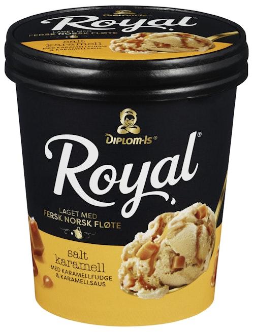 Diplom-Is Royal Salt Karamell 0,5 l