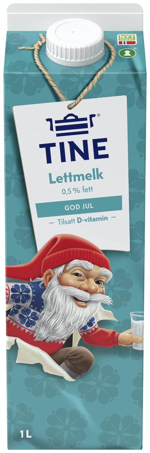 Tine TineMelk Lett 0,5%, 1 l