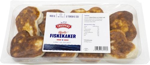 Engerviks Hjertefiskekaker 50% 700 g