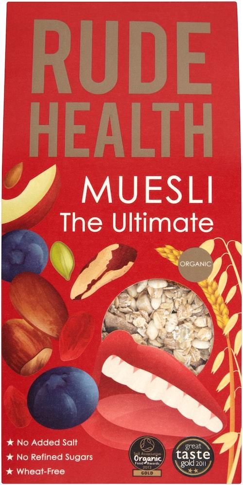 Rude Health The Ultimate Müsli Økologisk, 500 g