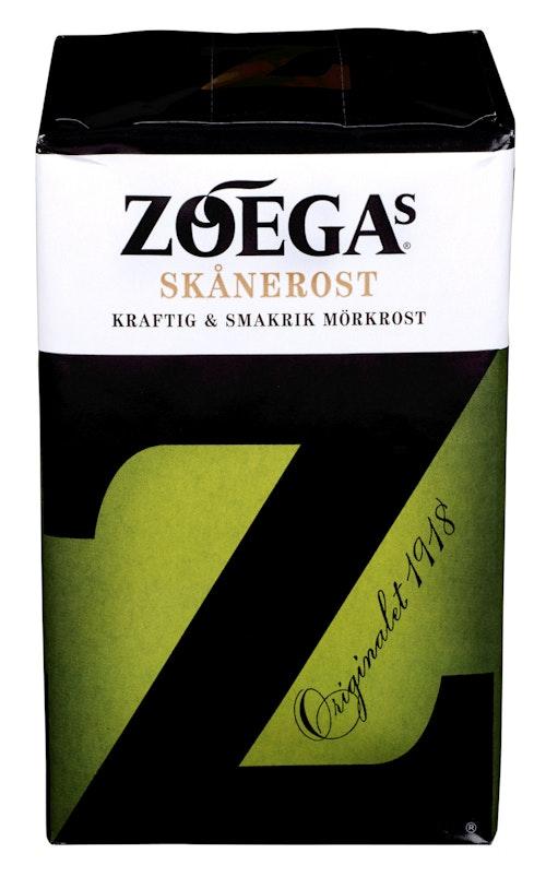 Zoégas Skånerost filtermalt, 450 g