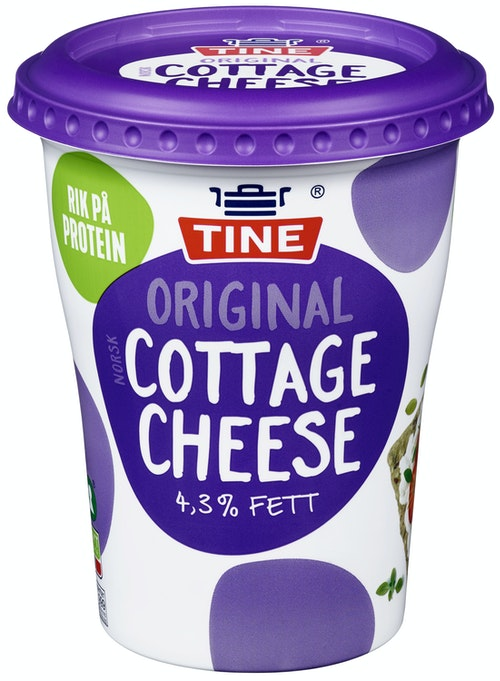 Tine Cottage Cheese Original, 400 g