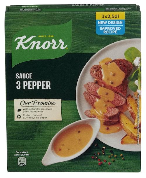 Knorr Peppersaus 28 gram 3 stk