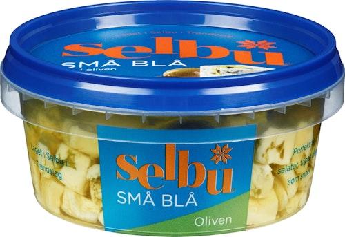 Selbu Selbu Små Blå Med Oliven 150 g