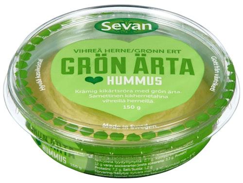 Sevan Hummus Med Grønne Erter 150 g