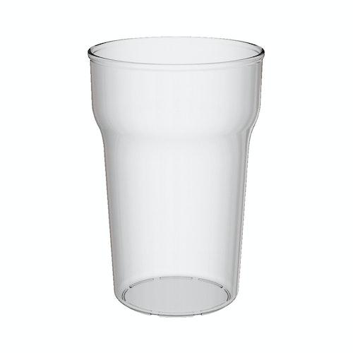 Clas Ohlson Ølglass i plast 56 cl, 1 stk