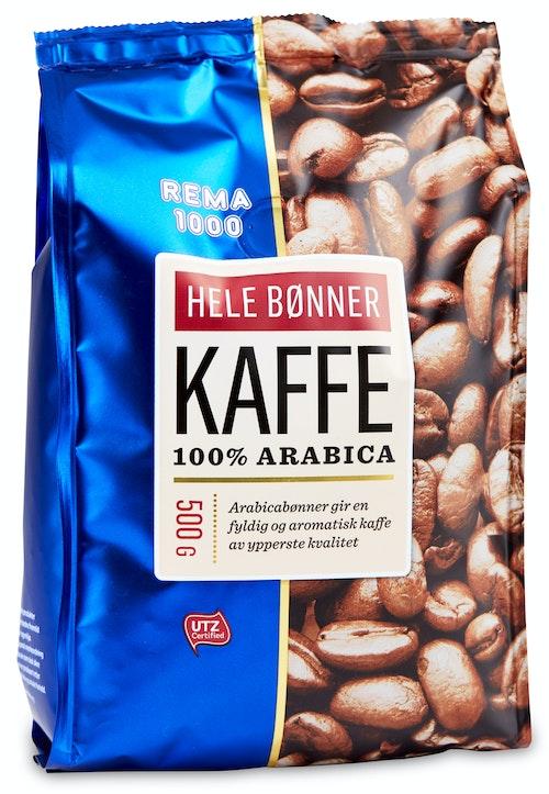 REMA 1000 Kaffe Hele Bønner 500 g