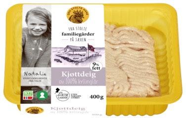 Kjøttdeig Av Kylling 400 g