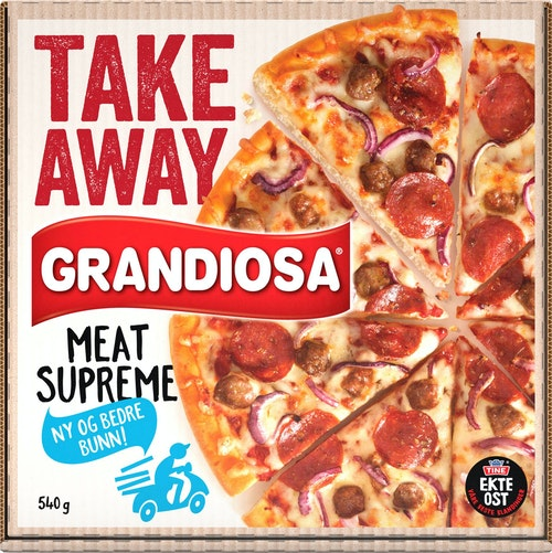 Grandiosa Grandiosa Take Away Meat Supreme 540 g
