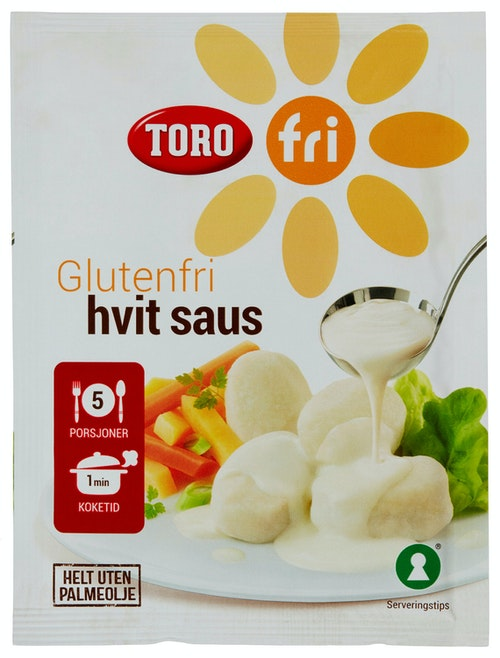 Toro Glutenfri Hvit Saus 19 g