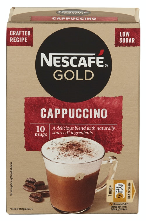 Nescafé Nescafé Cappuccino 10 stk, 125 g