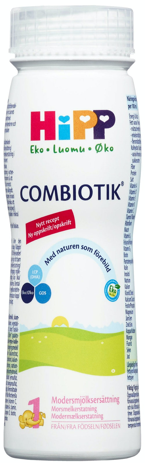 Hipp Combiotik 1 Fra fødselen, 200 ml