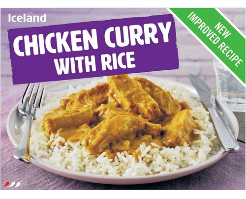 Iceland Kyllingcurry med Ris 500 g