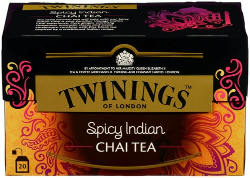 Twinings Spicy Indian Chai 20 poser, 20 stk