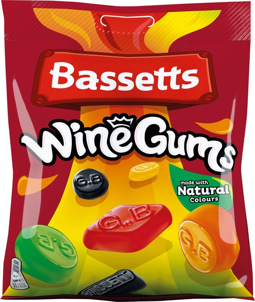 Bassetts Bassetts Vingummi 190 g