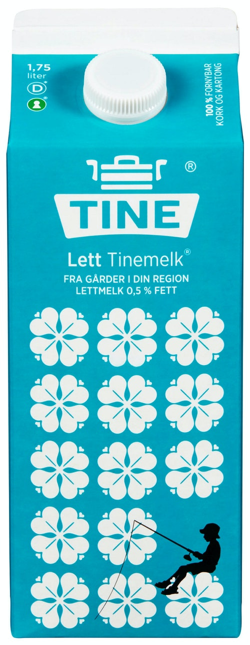 Tine TineMelk Ekstra Lett 1,75 l