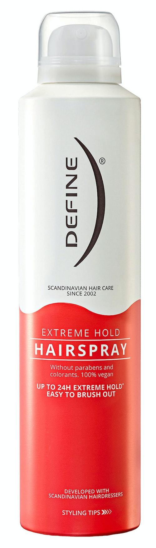 Define Hairspray Extreme Hold 250 ml
