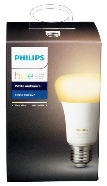 Philips Hue White Ambiance E27 9w, Normal Smartpære, 1 stk