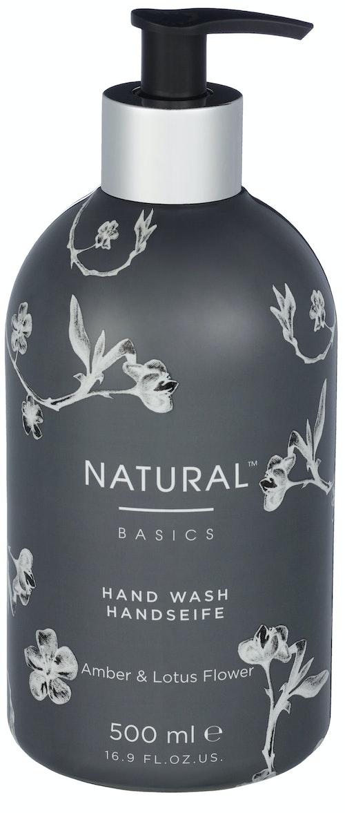 Natural Basics Hand Wash Amber & Lotus 500 ml