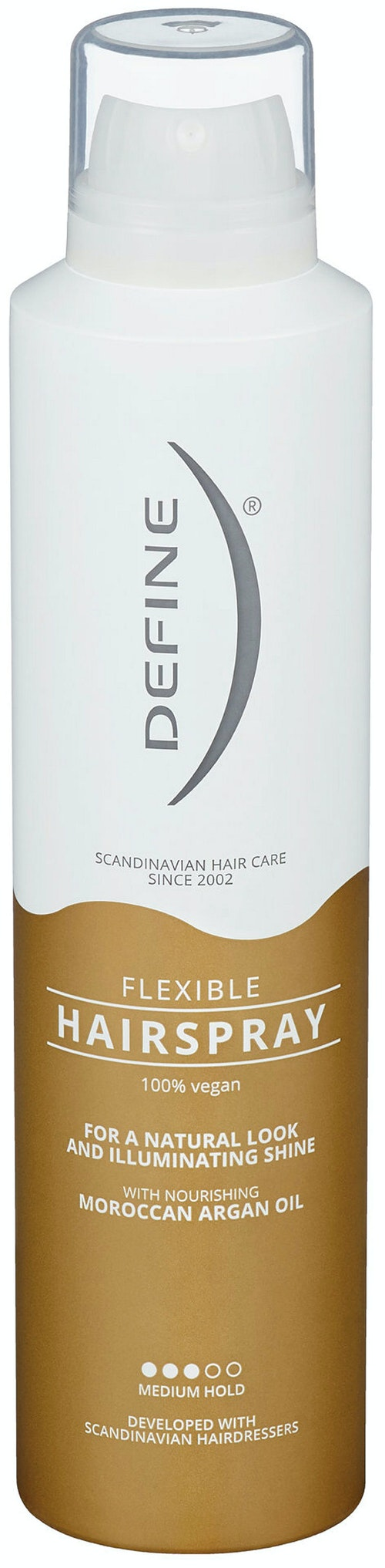 Define Hairspray Flex Argan 250 ml