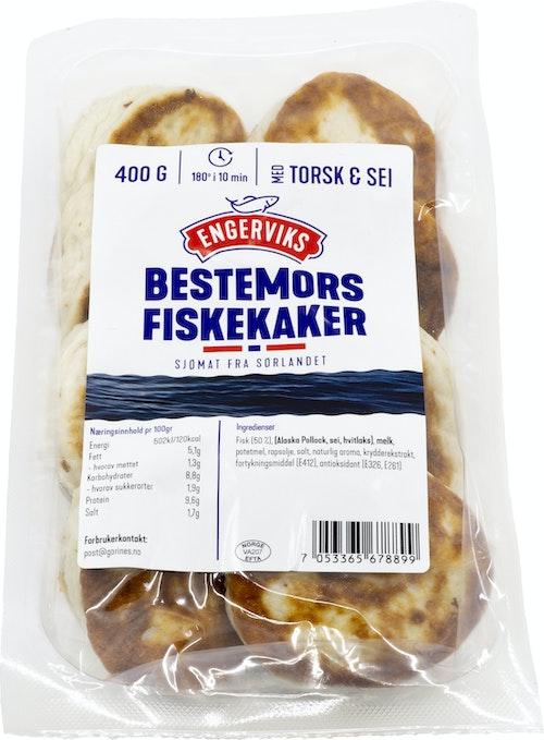 Engerviks Bestemors Fiskekaker 50% 400 g