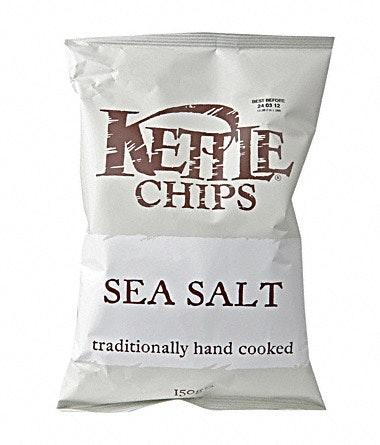 Kettle Kettle Chips Salt 150 g