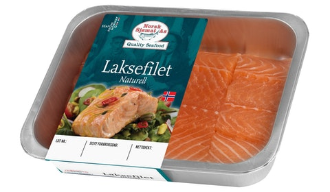 Laksefilet Naturell
