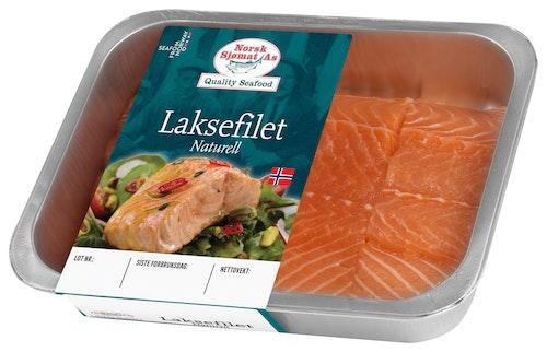 Norsk Sjømat Laksefilet Naturell Uten Skinn, 500 g