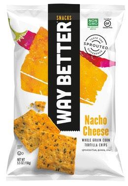 Way Better Way Better Nacho Cheese Chips 156 g
