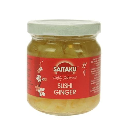 Saitaku Sushi Ingefær 190 g