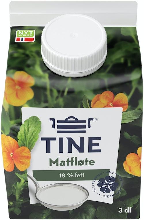 Tine Matfløte 18%, 0,3 l