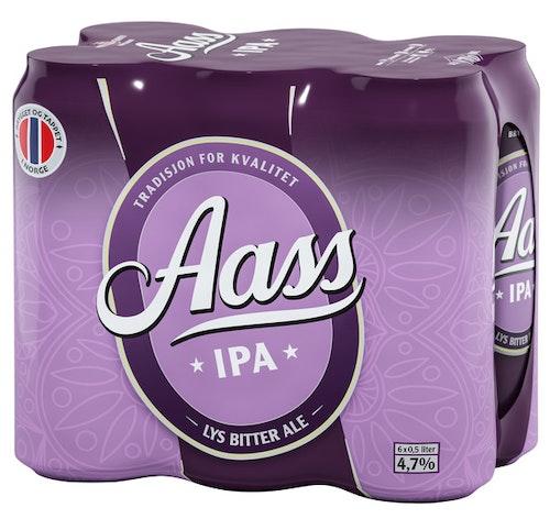 Aass Bryggeri Aass IPA 6x0,5l, 3 l