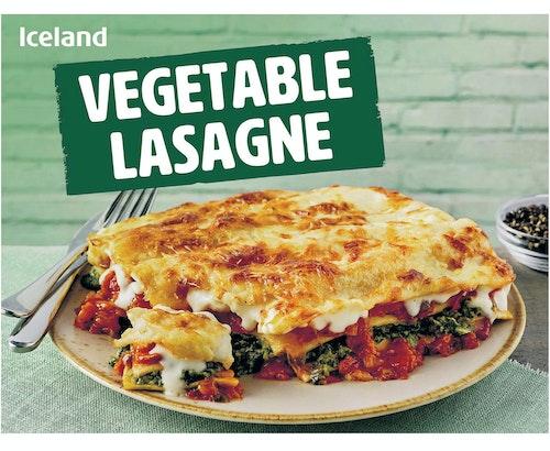 Iceland Vegetable Lasagne 500 g