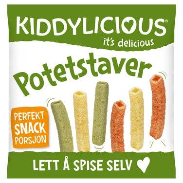 Kiddylicious Potetstaver Fra 9 mnd, 12 g