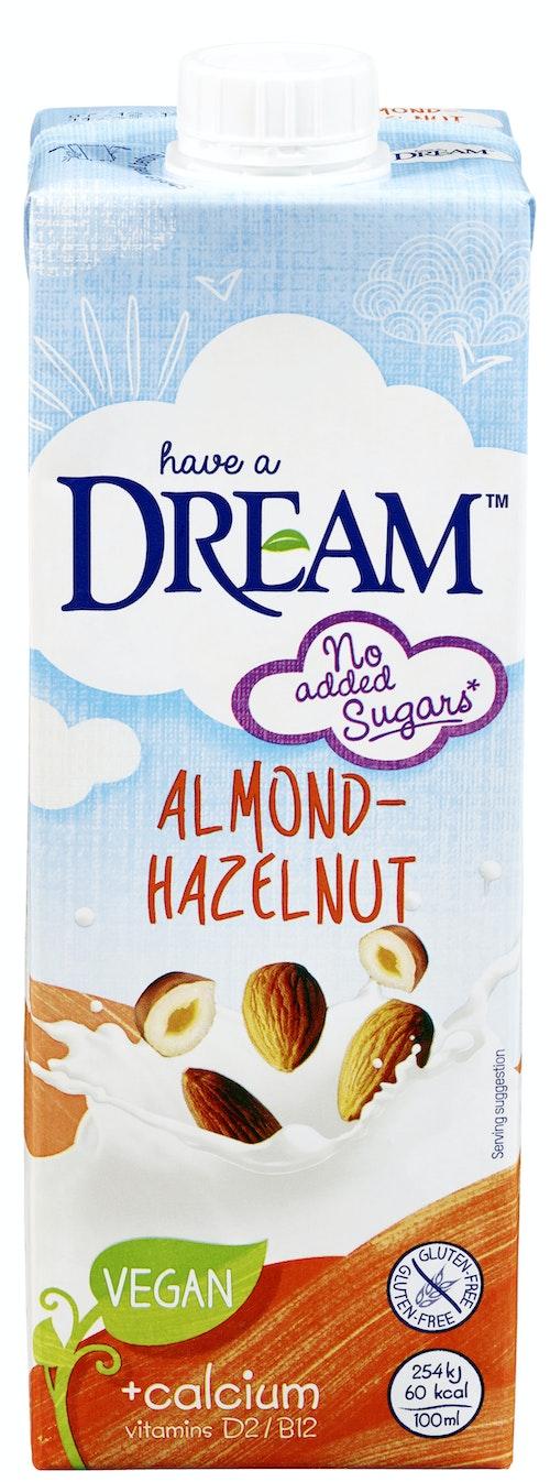 Dream Mandel & Hasselnøttdrikk Med Kalsium, 1 l