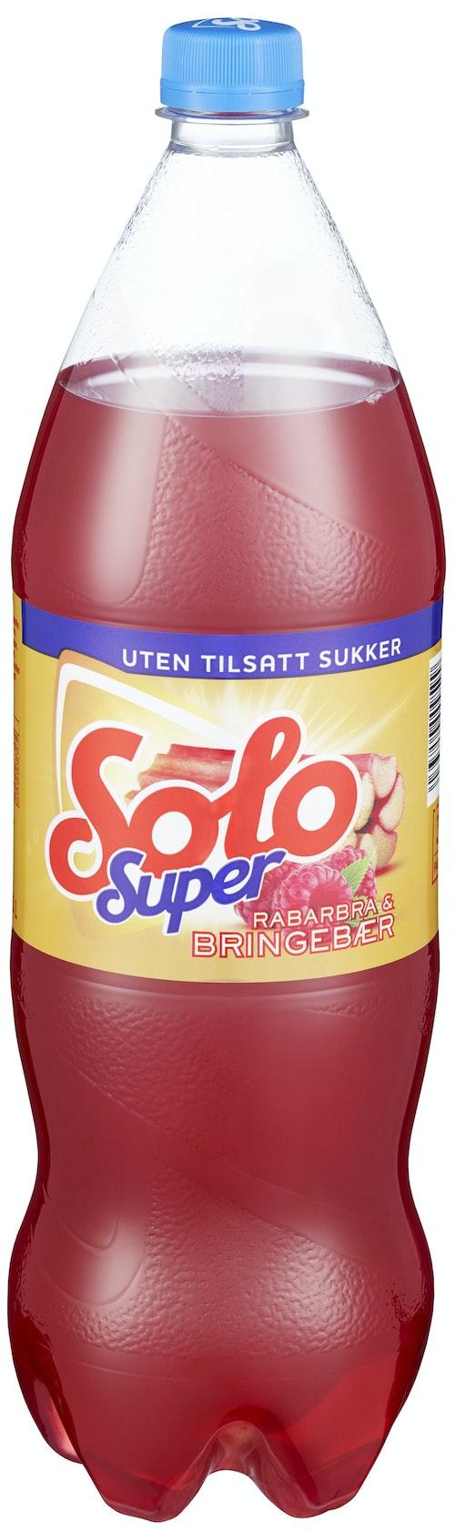 Solo Solo Super Rabarbra & Bringebær 1,5 l