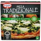 Pizza Tradizionale Spinaci e Ricotta