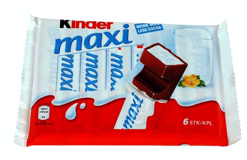 Kinder Kinder Maxi 6x20g, 126 g