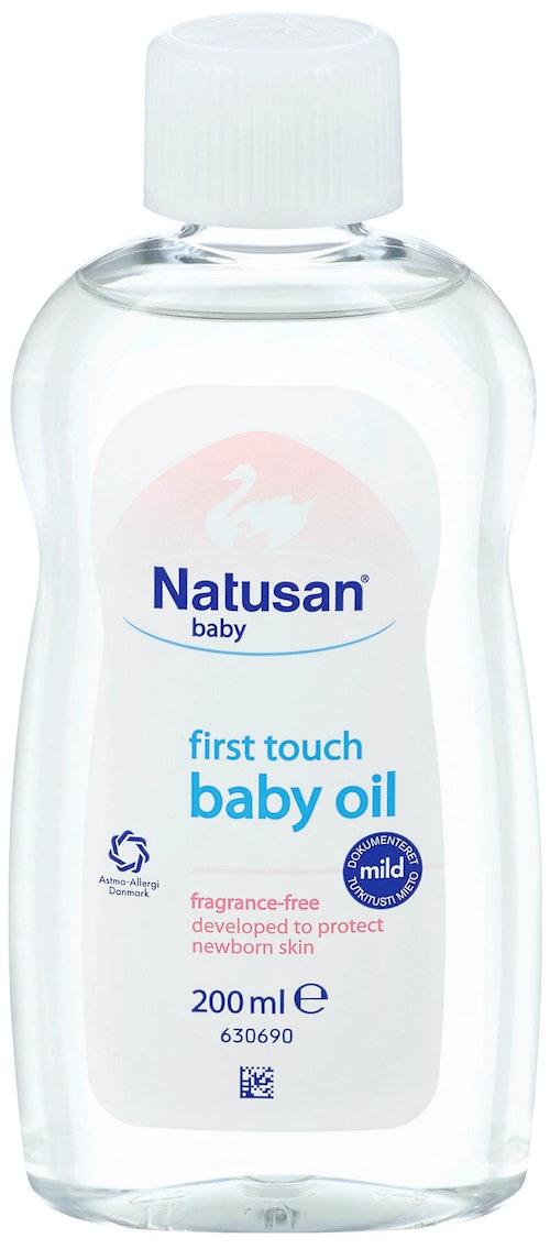 Natusan Babyoil Uten Parfyme 200 ml